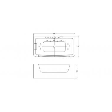 Ванна Wellis Rhone E-Drive™ TOUCH