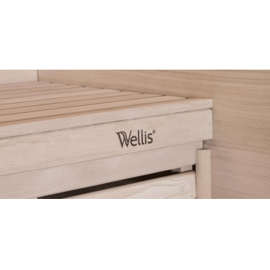 Финская сауна Wellis Serenis hemlock