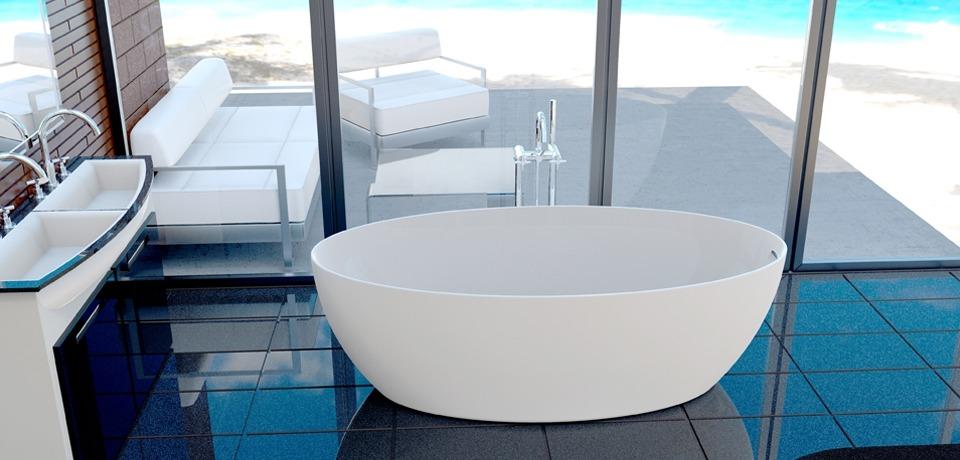 Акриловые ванны из магазина «Сантехдом»: виды, производители, плюсы