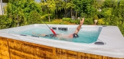 Спа бассейн с противотоком Wellis Danube